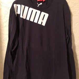 Vintage Puma Long sleeve athletic T-shirt XL